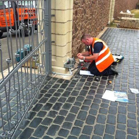 Secturity Gates Edinburgh