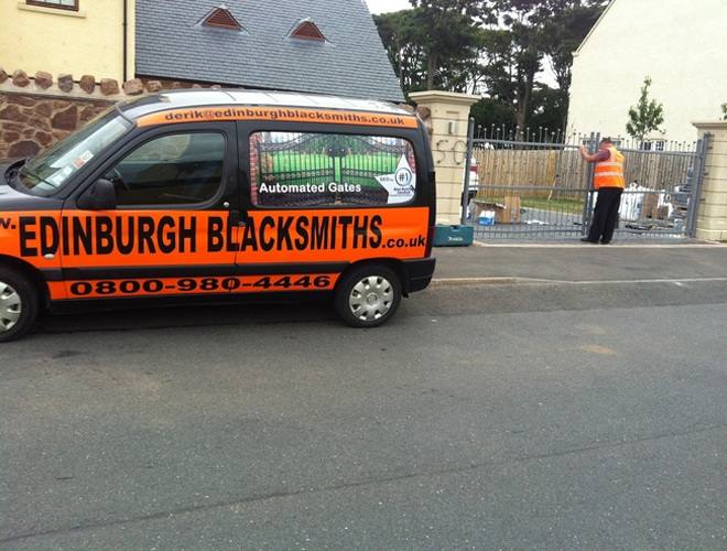 Exclusive Gates Edinburgh